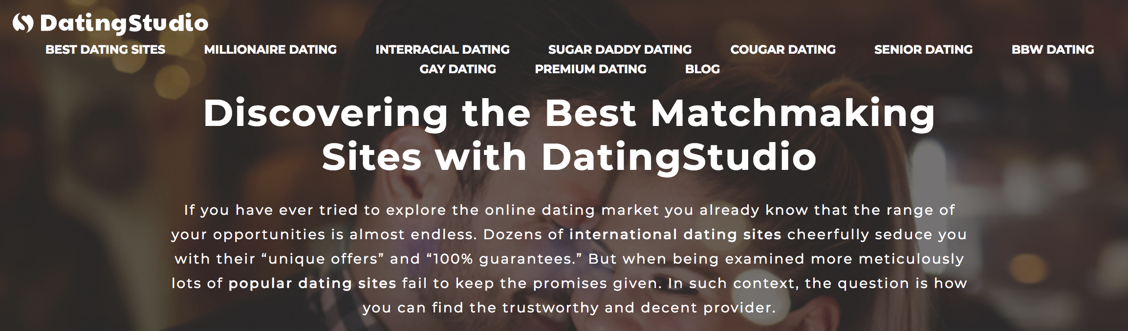 best rated online dating services