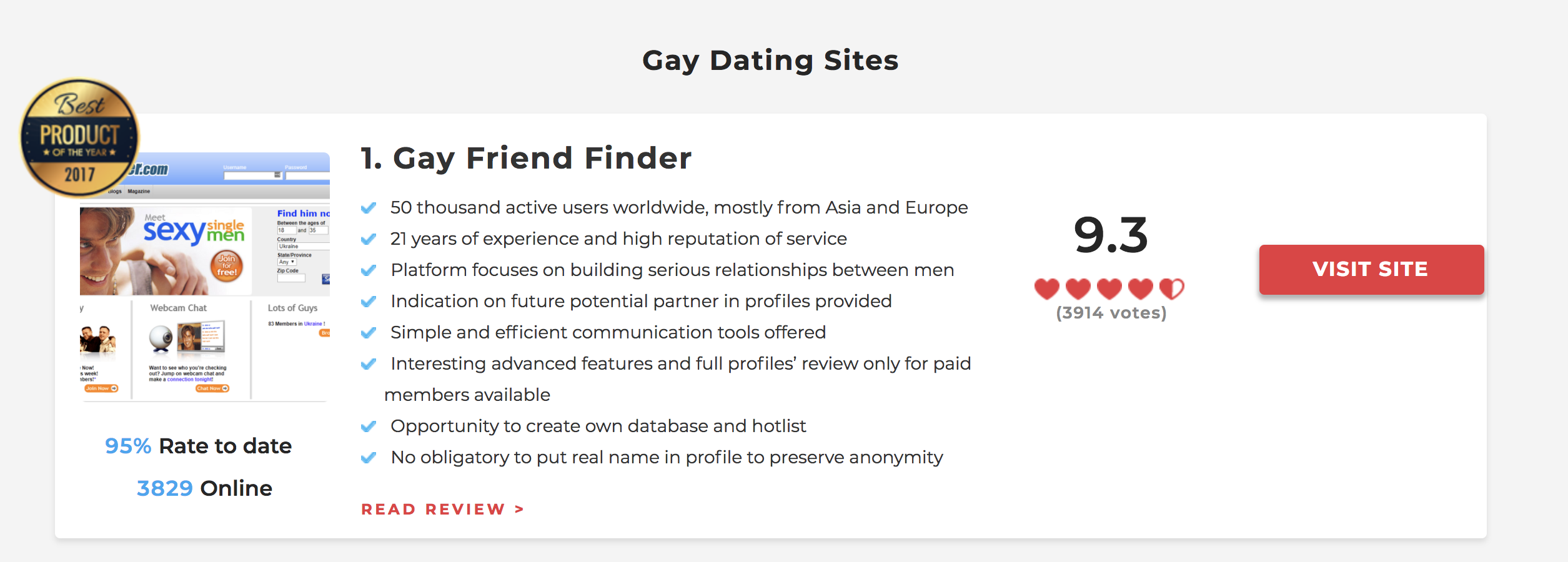 rate the best dating sites